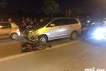 Truy tìm tài xế Innova gây tai nạn liên hoàn rồi bỏ trốn ở Hà Nội