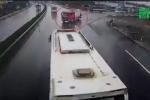 Xe cứu hỏa chạy ngược chiều trên cao tốc có đúng luật?