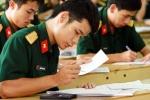 Thí sinh có hình xăm, chữ xăm không được xét tuyển vào trường quân đội