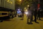 Đi cổ vũ U23 Việt Nam, một thanh niên bị cuốn vào gầm xe container thiệt mạng