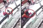 Clip: Truy tìm kẻ đi xe máy ngược chiều khiến 1 người chết thảm dưới bánh xe buýt