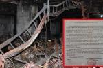 Thanh tra yêu cầu chủ đầu tư chung cư Carina vừa cháy ngừng sửa chữa vì sợ mất dấu vết