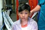 Công an thông báo tìm người thân cho cháu trai đi lạc tại Tiền Giang