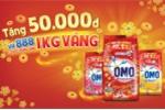 'Mua OMO, có 888 cơ hội trúng 1kg vàng hoặc 1 triệu đồng'