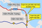 Bộ Giao thông đề xuất ghép 2 trạm thu phí ở khu vực hầm Hải Vân