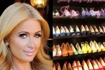 Paris Hilton khoe BST giày hàng hiệu trong phòng chứa quần áo trị giá 23 tỷ đồng
