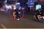 Clip: Bốc đầu xe máy mừng chiến thắng của Olympic VN và cái kết đắng
