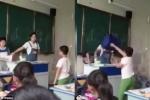 Tranh cãi vì một bài toán, nam sinh ném cặp vào bạn giữa lớp