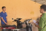 Thua độ bóng đá, nam thanh niên đi trộm 3 xe máy