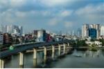 Video: Ngắm tàu Cát Linh - Hà Đông chạy băng băng qua phố phường Hà Nội từ flycam