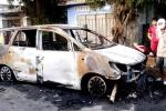 Côn đồ hỗn chiến, đốt xe ô tô ở Bình Định: 9 nghi can ra đầu thú