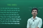 Clip: Thầy giáo phân tích 'Thu điếu' dưới góc nhìn Hóa học khiến dân mạng cười nghiêng ngả