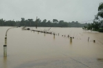 Sau mưa như trút, lũ ào ạt đổ về 'rốn lũ' lịch sử ở Hà Tĩnh