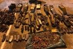 Triệt phá ổ ma túy nguy hiểm ở Lóng Luông: Phát hiện kho vũ khí 'khủng'