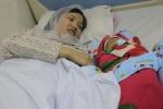 Vỡ òa khoảnh khắc sản phụ mắc bệnh tim bẩm sinh chào đón đứa con đầu lòng