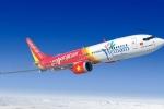 Vietjet tạm dừng nhiều chuyến bay do ảnh hưởng của bão Sơn Tinh