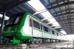 Tàu Cát Linh – Hà Đông dự kiến vận hành vào cuối năm 2018