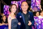 Thu Trang khoe vai trần gợi cảm, cùng chồng đến chúc mừng Ngô Thanh Vân