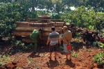 Lật xe công nông chở gỗ lậu, 3 nam thanh niên thương vong