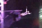 Video: Nghệ sỹ xiếc gặp nạn khi lấy thân mình làm 'đạn' trong màn bắn súng thần công