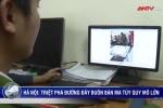 Clip: Truy đuổi xe Limousine VIP chở 10 bánh heroin về Hà Nội