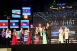 Phó Thủ tướng Trịnh Đình Dũng trao giải Cuộc thi tiếng hát ASEAN 2017