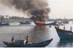 Thêm một vụ nổ bình gas trên tàu cá ngoài khơi