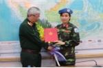 Video: Nữ quân nhân đầu tiên của Việt Nam tham gia gìn giữ hòa bình Liên Hợp Quốc