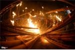 Ảnh: Độc đáo tục rước 'lửa thiêng' đêm giao thừa Tết Kỷ Hợi