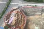 Clip: Đường nứt toác, đổ sụp như tận thế cạnh công trường xây dựng