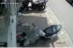 Clip: Tên trộm mất chưa đầy 5 giây để bẻ khóa xe Honda SH