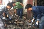 Hiện trường căn nhà cháy rụi, 3 mẹ con chết thương tâm ở Nam Định