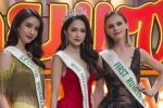 Bị hỏi chuyện mua giải Hoa hậu, Hương Giang phản ứng trên truyền hình Thái Lan
