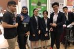 Nhóm học sinh trung học Hà Nội xuất sắc giành giải thưởng quốc tế với sản phẩm Chậu cây thông minh