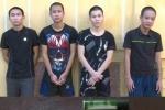Bắt tạm giam 5 thanh niên dùng hung khí đe dọa, tấn công công an xã ở Thái Bình
