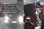 Clip: Băng trộm đi ô tô Mazda khoắng đồ trong shop quần áo ở Sài Gòn