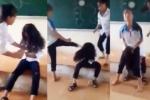 Mâu thuẫn cá nhân, nữ sinh lớp 7 bị đánh hội đồng trên bục giảng