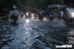 Đường quanh Tân Sơn Nhất mênh mông nước sau trận mưa lớn
