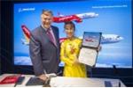 Vietjet ký hợp đồng 100 tàu bay với Boeing tại triển lãm Hàng không lớn nhất thế giới Farnborough - London