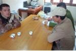Bắt 2 kẻ trộm sắt công trình đường dẫn vào chùa Yên Tử