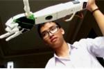 Nam sinh chế tạo cánh tay robot là ứng viên Gương mặt trẻ Việt Nam tiêu biểu 2017