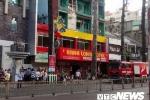 Tiếp tục cháy ở TP.HCM: Giải cứu 19 người khỏi khách sạn đang bốc cháy dữ dội