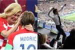 World Cup 2018: Tổng thống Pháp vui sướng tột cùng, Tổng thống Croatia suýt rơi lệ