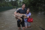 Dân Mỹ bỏ tài sản, quyết không bỏ vật nuôi trong bão Harvey