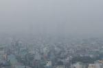 Kỳ lạ sương mù dày đặc bao phủ TP.HCM từ sáng đến trưa
