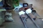 Bắt kẻ buôn ma túy tàng trữ nhiều súng đạn ở Lạng Sơn