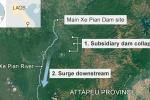 Sự cố vỡ đập thủy điện thảm khốc ở miền Đông Nam Lào đã diễn ra như thế nào?