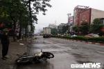 Xe container lao qua dải phân cách đâm điên loạn trên đường phố Vinh, 2 người thương vong