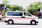 xe cứu thương Bảo vệ chặn xe cứu thương - Luật ngầm tàn nhẫn ở phía sau bệnh viện tt yucm 0804460