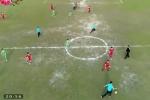 Video: 6 tuyển thủ U23 Việt Nam đấu 14 học sinh trường giáo dưỡng